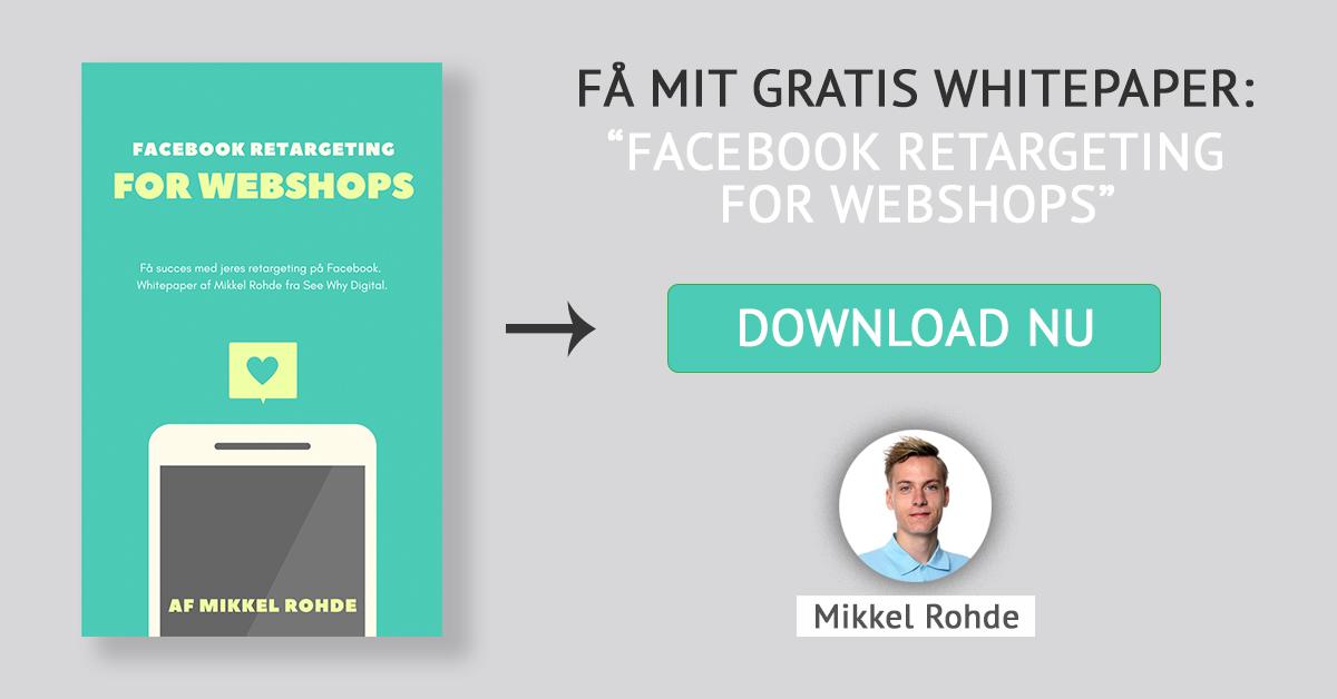 Gratis whitepaper: Facebook Retargeting for webshops